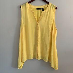 INC sleeveless top